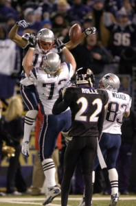 The Ravens vs The Patriots 07 Game tonight at 8ET