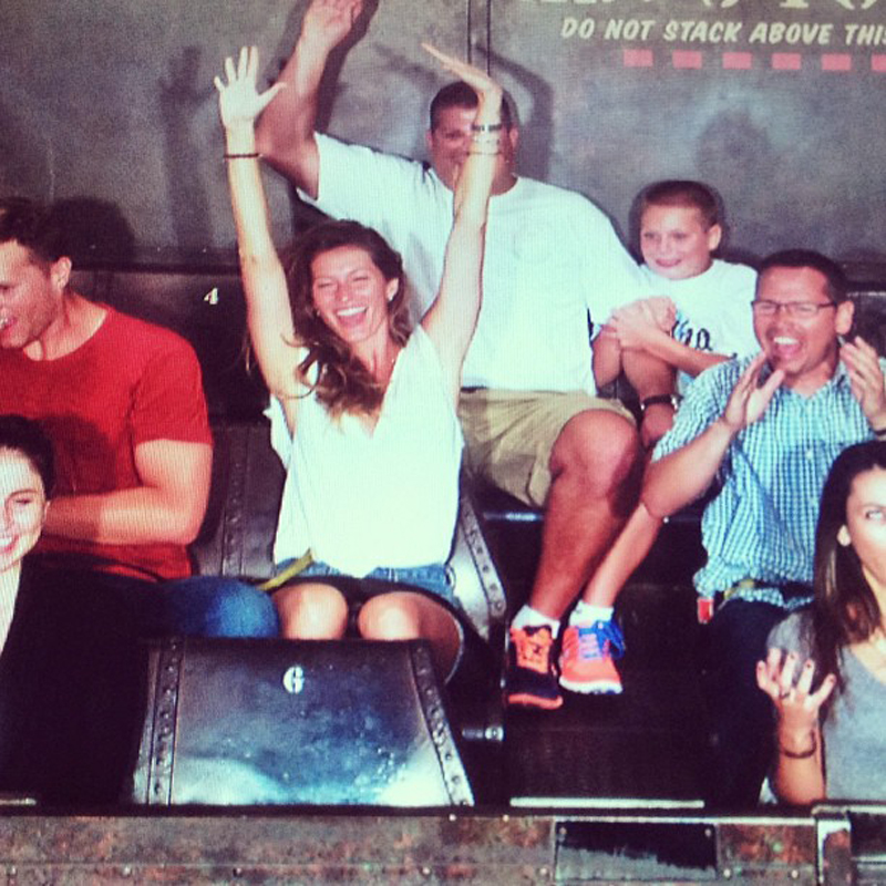 Is Rob Gronkowski S Rumored Girlfriend Making Moves On: Tom Brady Enjoys Family Time At Disneyland