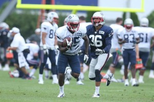 Kenbrell Thompkins VS Brandon Jones Photo by David Silverman