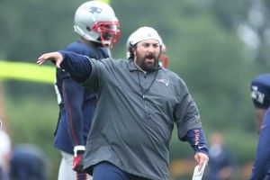 Defensive Coordinator Matt Patricia Photo by David Silverman
