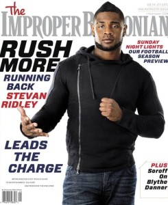 Stevan Ridley Photo from The Improper Bostonian