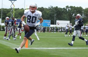 Danny Amendola Touchdown Photo by David Silverman