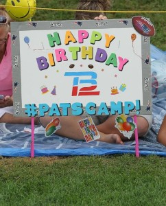 Happy Birthday Brady sign Photo by David Silverman
