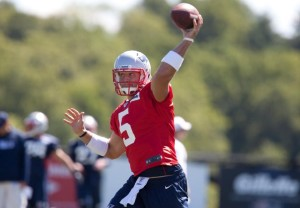 Tebow Photo from New England Patriots