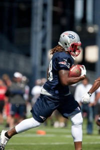 Brandon Bolden Photo by Martin Morales