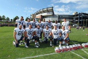 Offensive Line Photo by David Silverman