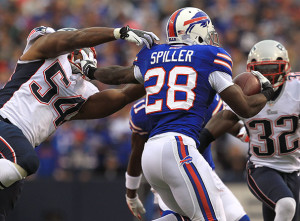 CJ Spiller Photo By Barry Chin / Globe file