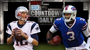 Tom Brady vs EJ Manuel  Photo From Espn