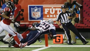 LeGarrette Blount's 47 yard touchdown run Photo by: Associated Press
