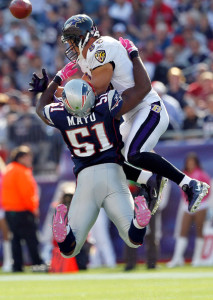 Jerod Mayo may miss the rest of the season