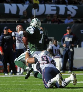 Pictures from Patriots loss to the Jets