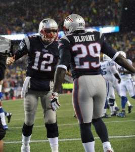 Photos from Patriots divisional round win over the Colts