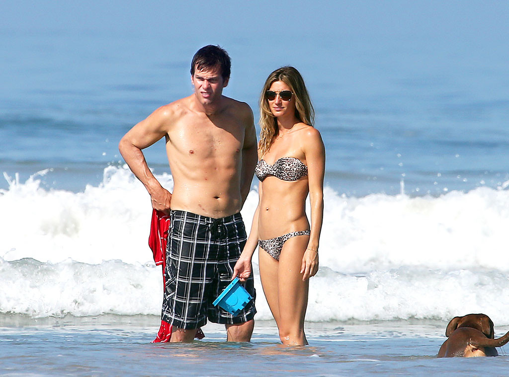Tom Brady and Gisele shows some PDA in Coasta Rica - Patriots Gab