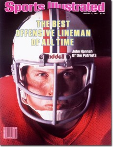 John Hannah's SI cover. Credit: Frank White-contract