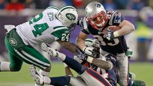 Wes Welker against the Jets. Photo Courtesy of Michael Dwyer
