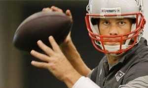 Tom Brady has had an exceptional  minicamp. Photo By: AP