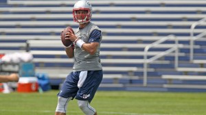 Jimmy Garoppolo during the team's mini-camp. (Photo By John Wilcox)