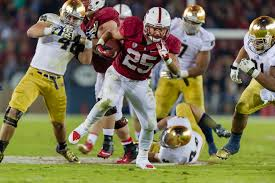 Tyler Gaffney during his Stanford days. (GRANT SHORIN/Stanfordphoto.com)