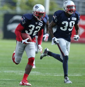 Devin McCourty and Brandon Browner  (Photo By David Silverman)