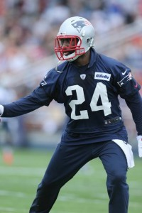 Darrelle Revis practicing. (Photo By David Silverman)