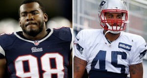 Marcus Forston and D.J. Williams. (Photo From Patriots.com)