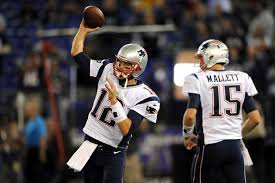 Ryan Mallett will start tonight while Tom Brady gets the night off. (Photo By Patrick Smith/Getty Images)