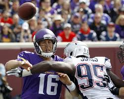 Chandler Jones was in the backfield all day against the Vikings. (Photo By:AP Ann Heisenfelt)