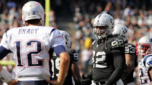 Tom Brady and the Pats move to number 5 in the power rankings.  (Photo By: Cary Edmondson)