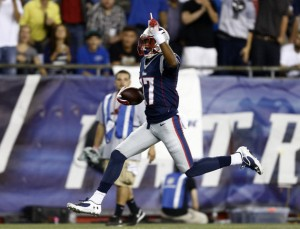 Aaron Dobson out for tonight's game. (Photo From: USA Today Sports Images)
