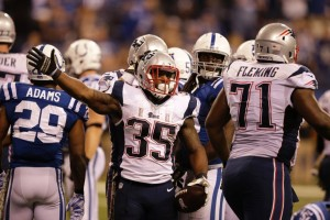 Jonas Gray powered the Pats to a Prime Time Win. (Photo From Patriots.com)