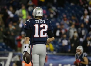 Tom Brady during the AFC Title Game. (Photo From Patriots.com)