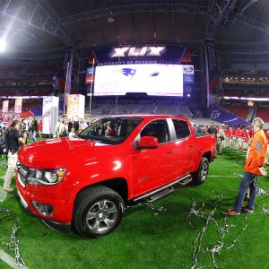 This beauty of a truck could soon be Malcolm Butler's truck. (Photo By: Christian Petersen/Getty Images)