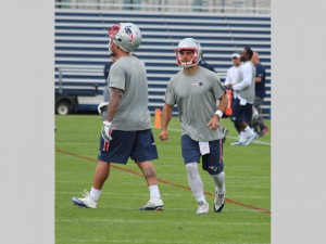 Jimmy Garoppolo, the Patriots possible day one starter. (Photo From Patriots.com)