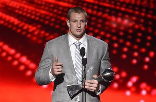 Rob Gronkowski wins ESPY Awards.
