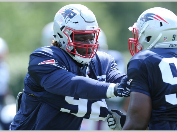 Malcom Brown goes through some drills. (Photo by David Silverman)
