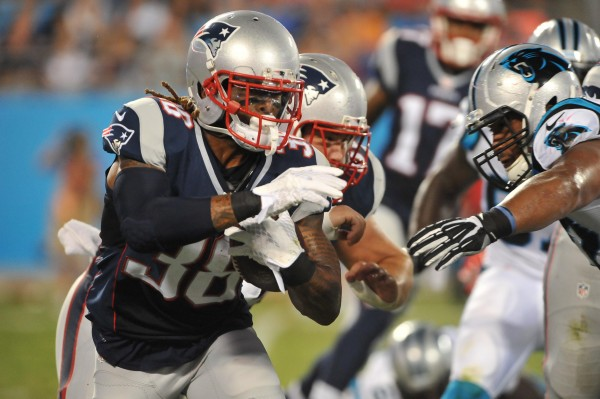 Brandon Bolden. (Photo By: Keith Nordstrom)