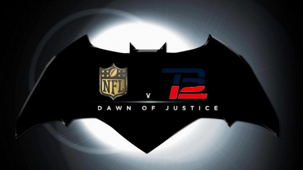 Tom Brady Vs NFL heats up in court today. Photo from YouTube Channel Super Bowl XLIX Champions. Video called: NFL v Brady: Dawn of Justice Official Teaser Trailer #1 (2016)