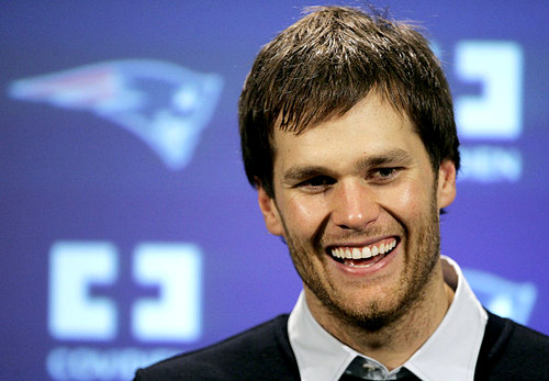 Tom Brady's Patriots take the one and two spot in the power rankings. (Photo From www.ajc.com)
