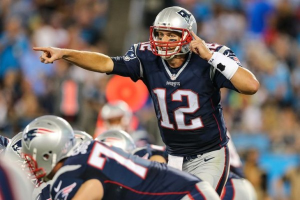 Don't blame the Pats for the headset issue. (Photo By: Jim Dedmon-USA TODAY Sports)
