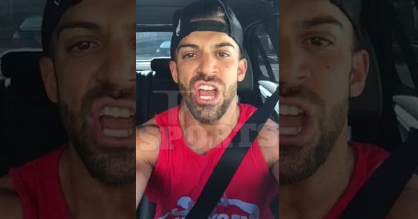 TNA Wrestler Robbie E. (Photo From TMZ Sports video)