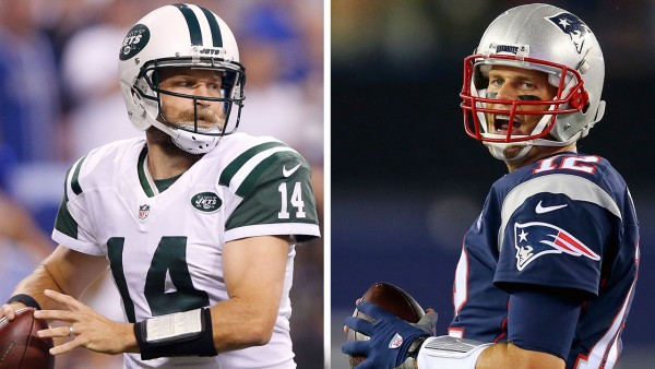 Ryan Fitzpatrick Vs Pats defense. Tom Brady Vs Jets defense. See where each team ranks in the Stats. (Photo From SI.com)