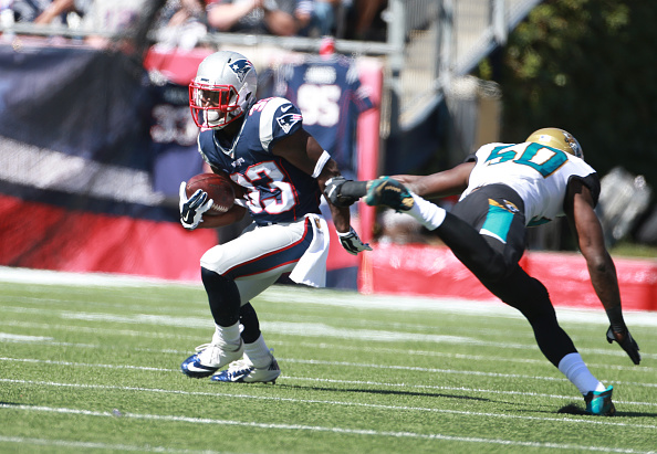 Jacksonville Jaquars Vs. New England Patriots At Gillette Stadium