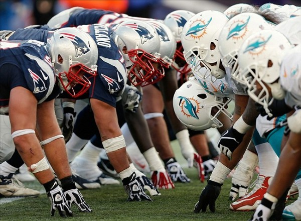 Dolphins Vs Patriots. The most important matchups will determine the outcome of the game. (Photo By: Winslow Townson-USA TODAY Sports)