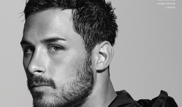 "Danny Amendola on the cover of ""At Large"" magazine.  (Photo From Fashionweekdaily.com)"