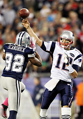 Pats Stats and Cowboys Stats below! (Photo By: Elsa/Getty Images