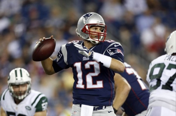 Tom Brady throws a pass against the Jets back in 2013. (Photo By: Greg M. Cooper-USA TODAY Sports)