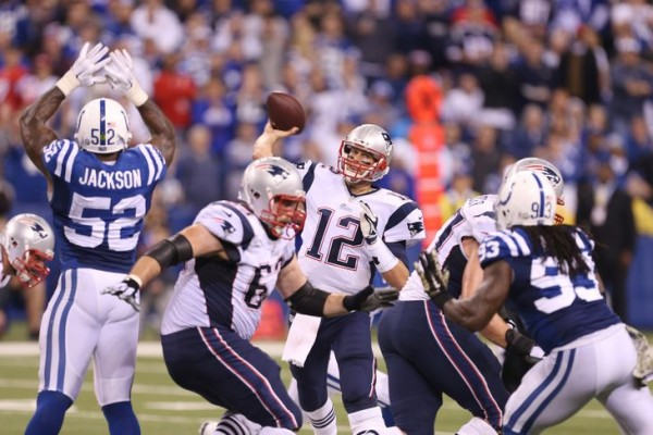 Patriots Vs Colts. The preview for the game begins below! (Photo By: Brian Spurlock-USA TODAY Sports)