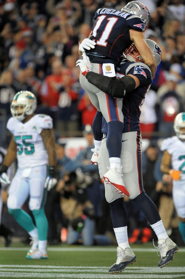 New England Patriots are still the class of the NFL. (Photo By: Keith Nordstrom)