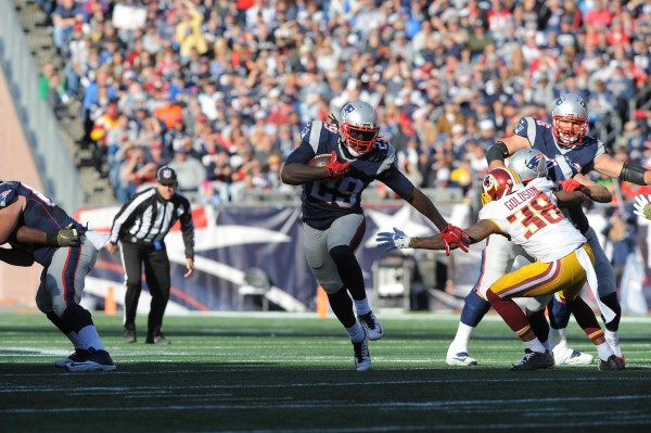 RB LeGarrette Blount scored a touchdown in the win over Washington. (Photo From Patriots.com)