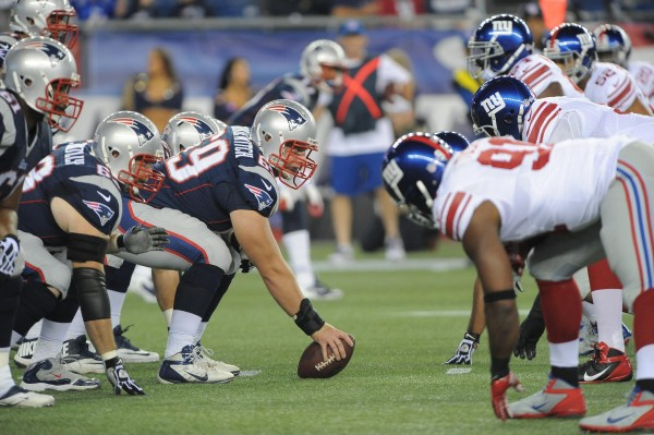 Patriots Vs Giants in 2013. (Photo From Patriots.com)